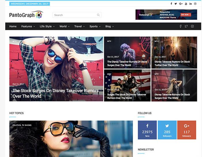 best news wordpress themes