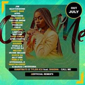 Giant Rats & Tyler icu – Call Me (Remix Package) Ft. Shasha