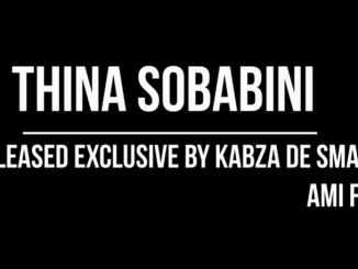 Kabza De Small & Ami Faku - Thina Sobabini (snippet)
