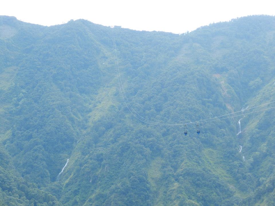 Zipline in Nepal by Lizzy Rose Toleman
