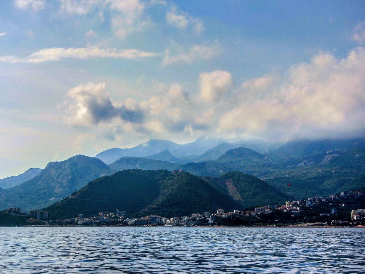 Nicole Smoot A view of Budva, Montenegro from Sveti Nikole island