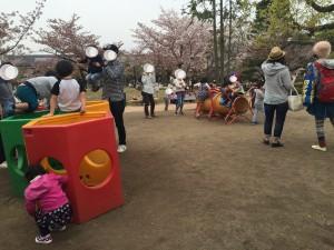 京都市動物園の小さな公園