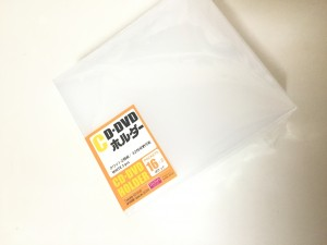 ダイソーCD•DVDホルダー