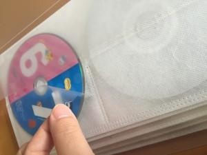 無印のCD•DVDケース 失敗例