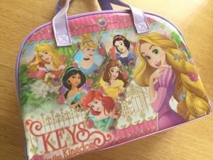 プリンセスの水着バッグ 5歳娘の誕生日プレゼント