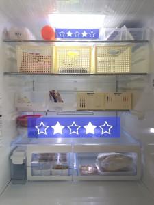 冷蔵庫 余裕のある収納