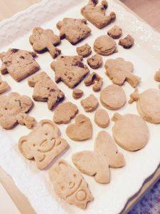 子供たちと一緒に作ったクッキー