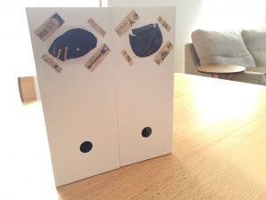 ニトリのファイルボックス かばん収納 分かりやすい 取り出しやすい