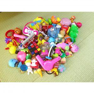 ガチャガチャで集めたおもちゃ 断捨離 収納に困る 収納方法