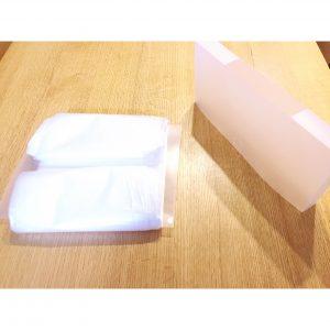 ダイソーファイルバッグ ビニール袋ストッカー 手作り ビニール袋の入れ方