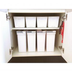キッチン カップボード 使いやすい工夫 使いやすい収納 100均 セリア ダイソー 無印 整理整頓