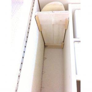 すのこ diy ビーチサンダル サンダル 収納 整理整頓 すのこで板を作る 手作り棚 シューズクローク