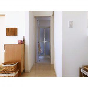 キッチンからの眺め 洗面所への導線 廊下 一軒家 マイホーム