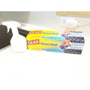 コストコ プレスンシール セスキ炭酸ソーダ水 大掃除 油汚れ 予防 収納 整理整頓 冷蔵庫の上 掃除