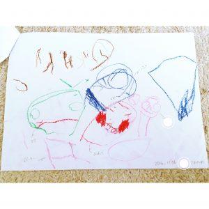 3歳の娘が描いた絵 保管方法 整理 収納