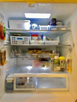 冷蔵庫 見える化 100均トレー 100均ケース ケース 透明 冷蔵庫整理 整理整頓 収納 ブログ ダイソー セリア 使いやすい冷蔵庫