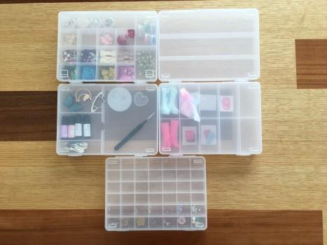 セリア 100均 ケース SIKIRI 細かいもの収納 ビーズ収納 おもちゃ収納 整理整頓 片付け