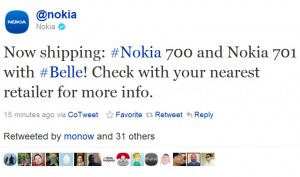 Nokia_700_now_shipping_tweet