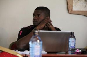 Deola Kayode of Teleios Consulting Nigeria a WordCamp Kenya 2012 Maanzoni
