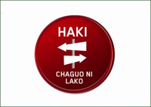 Haki - Chaguo Ni Lako Game from Afroes Games