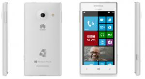 White Huawei4Afrika Mobile Device
