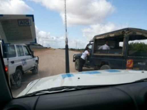 arrival police escort dadaab hagadera juuchini
