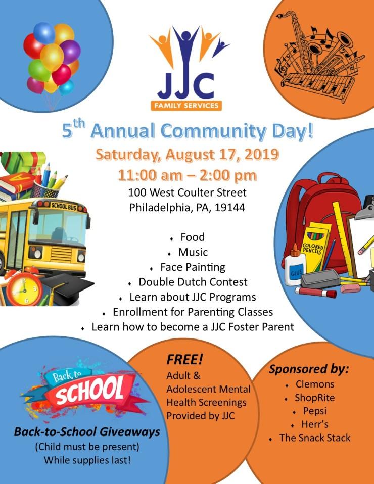 Community Day Flyer 2018