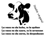 la vaca no da leche se la quitan