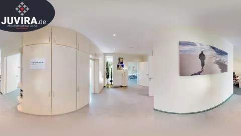 Juvira.de | Virtueller Rundgang / Panoramafoto einer Praxis für Physiotherapie