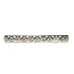 zilveren broche filigrain