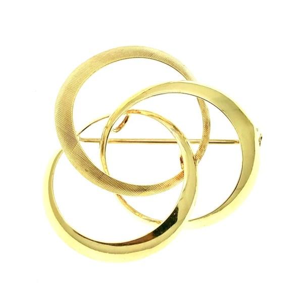 Gouden broche 14 karaat