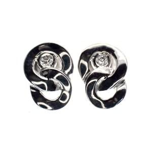 zilveren oorstekers infinity