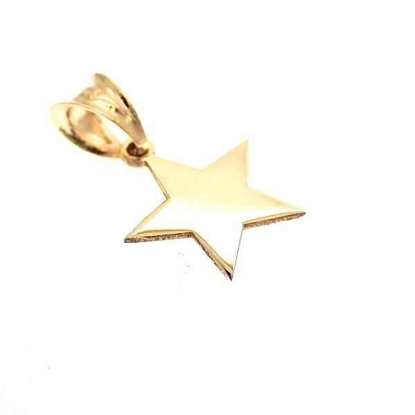 gouden hanger van ster