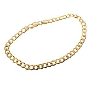 gouden gourmet schakel armband