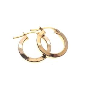 gouden creolen oorringen