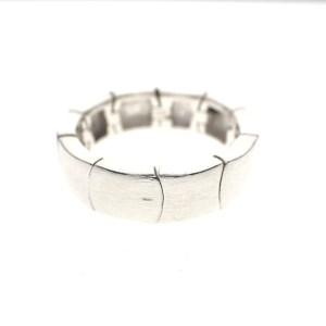 zilveren schakel ring
