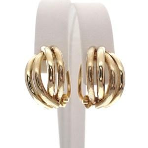 gouden oorclips vintage