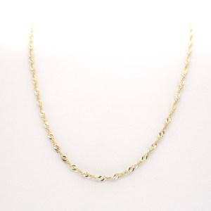 gouden gedraaide ketting Turkse sieraden