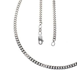 langer zilveren ketting