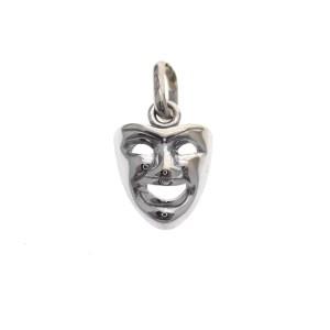 witgouden hanger masker