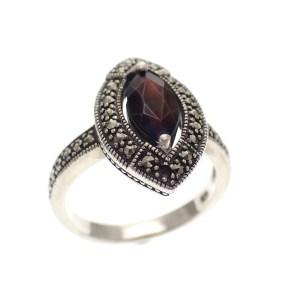 vintage ring zilver
