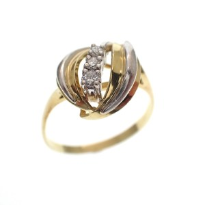 dames ring met diamant