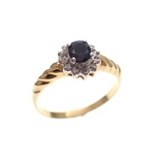 unieke gouden dames ring