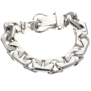 armband voor heren zilver