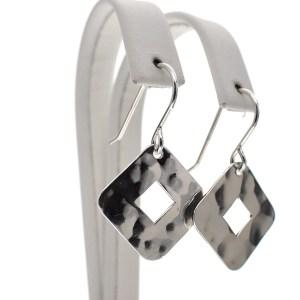 zilveren dames oorbellen
