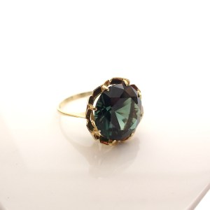 gouden cocktail ring