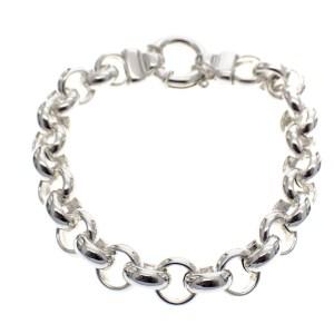 zilveren dames armband