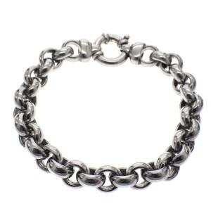 zilveren armband van ringen