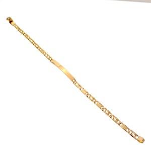 gouden armband met plaatje
