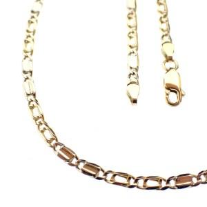 gouden ketting met witgoud